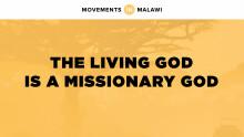Jeff Wells   The Living God is a Missionary God